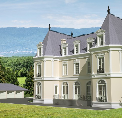 chateau d'humilly a vendre